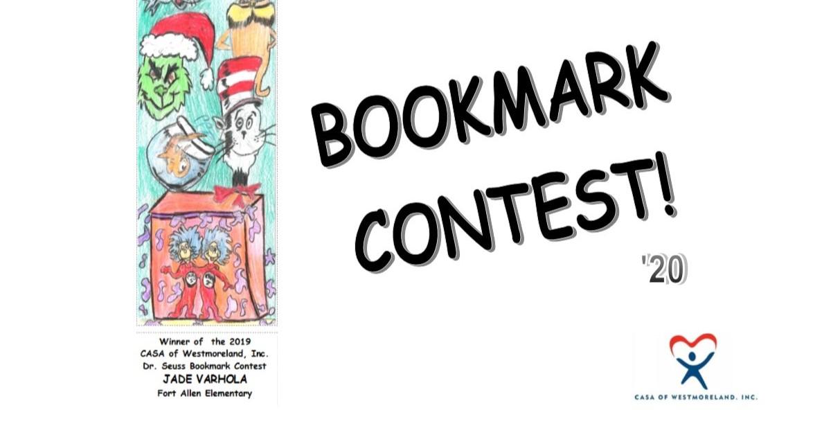 CASA Of Westmoreland Bookmark Contest