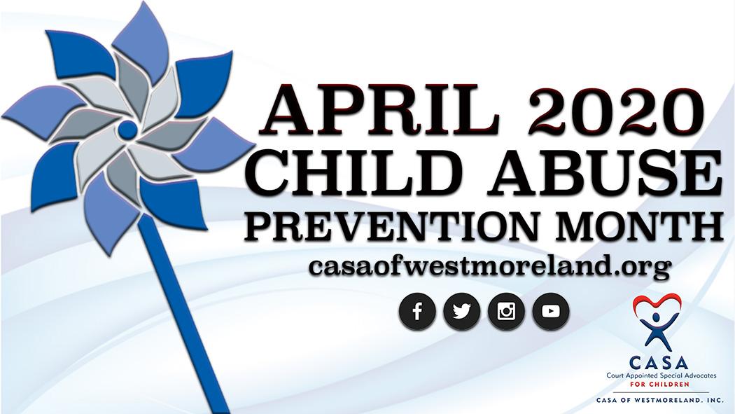 CASA Of Westmoreland Pinwheels For Prevention!
