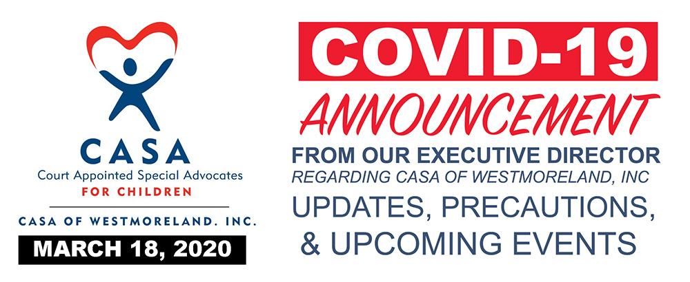 CASA Of Westmoreland Covid-19